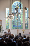 Chapel Stained Glass Window Dedication and service