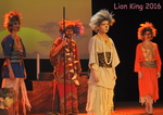 The Lion King, an amazing production.