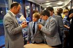 Papplewick boys meet Nasser Hussain