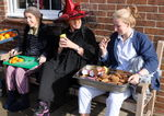 Witches and grannies, the matrons and gappies get in on the act!