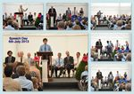 Speech day with main speakers and prizewinners